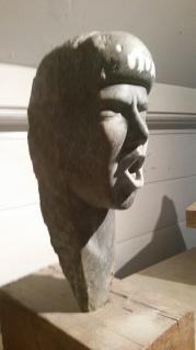 Singing Siren. Spring stone. 50cmx25cmx28cm. £875